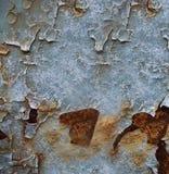 Ржавая покрашенная поверхность стоковое фото