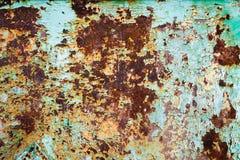 Ржавая предпосылка искусства текстуры металла Стоковые Изображения RF