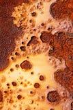 Ржавая плита утюга Стоковое Изображение RF