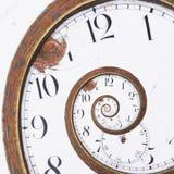Ржавая свирль часов Стоковые Фото