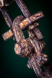 ржавая сережка Стоковое Фото