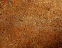 Ржавая старая коричневая текстура металла Стоковое Фото