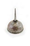 Ржавая стальная чонсервная банка масла Стоковая Фотография RF