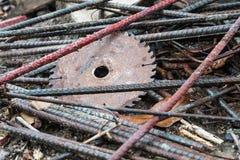Ржавая сталь конструкции Стоковое Фото