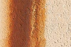 ржавая стена текстуры Стоковое Изображение