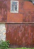 ржавая стена Стоковое Изображение