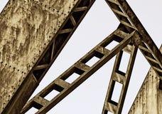 Ржавая структура металла Стоковые Изображения