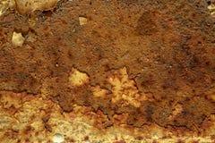 Ржавая текстура конспекта металла стоковое изображение rf