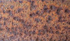 Ржавая текстура металла плиты Стоковое Изображение