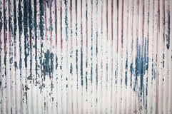 Ржавая текстура металла волнистого железа стоковая фотография rf