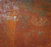 Ржавая текстура металла или ржавая предпосылка металла Vint Grunge ретро Стоковое Фото