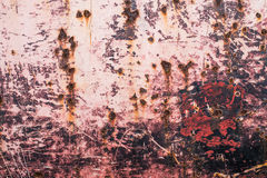 Ржавая текстура металла с пестротканой предпосылкой Стоковое Изображение