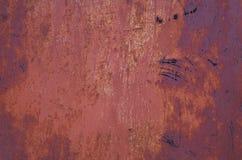 Ржавая текстура металла Стоковая Фотография