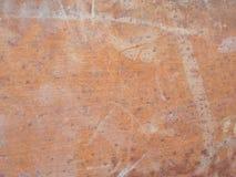 Ржавая текстура трубки металла для предпосылки стоковая фотография rf