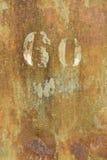 ржавая текстура Стоковая Фотография RF