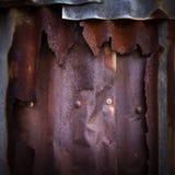 Ржавая текстура grunge цинка стоковые фотографии rf