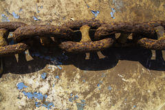Ржавая цепь Стоковые Изображения RF