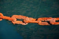Ржавая цепь Стоковые Фото