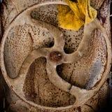ржавея колесо Стоковое фото RF