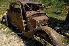 ржавое автомобиля старое Стоковая Фотография RF