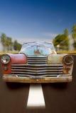 ржавое автомобиля старое Стоковые Изображения RF
