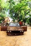 ржавое автомобиля старое Стоковое Изображение RF
