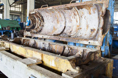 Ржавое буровое оборудование Стоковое Изображение RF