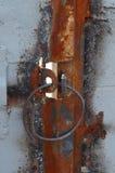 ржавое двери старое Стоковые Изображения RF