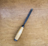 ржавое зубила старое Стоковое Фото