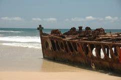 ржавое кораблекрушение Стоковое Фото