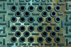 ржавое металла старое Стоковое фото RF