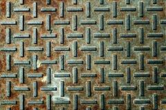 ржавое металла старое Стоковая Фотография