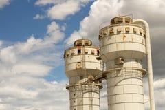 ржавое силосохранилище Стоковые Изображения RF