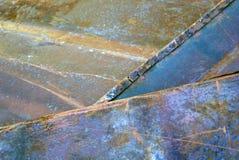 ржавое утюга старое Стоковое Фото