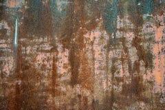 Ржавое фоновое изображение стены стоковое фото