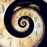 ржавое часов инфинитное старое Стоковые Фото