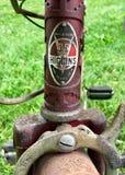 ржавое bike старое Стоковое Изображение