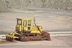 Ржавое Buldozer Стоковые Изображения
