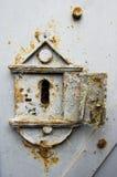ржавое keyhole старое Стоковые Изображения RF