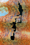 ржаво Стоковое Изображение RF