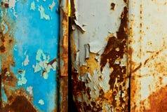 ржавчина двери Стоковое фото RF
