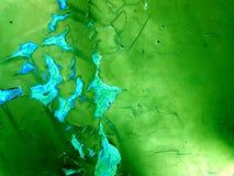 ржавчина и размывание повреждают поверхность металла дождем Стоковые Фото