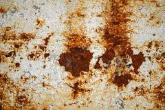 Ржавчина на белизне Стоковые Фотографии RF