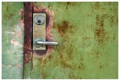 Ржавчина на двери металла Стоковая Фотография RF