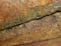 Ржавчина на металле Стоковое Изображение