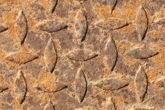 Ржавчина на стали для картины Стоковая Фотография