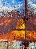 ржавчина предпосылки коричневая зеленая стоковые фотографии rf