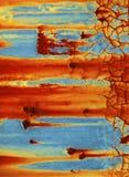 ржавчина предпосылки коричневая зеленая Стоковое Фото