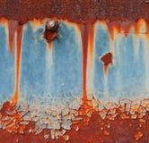 ржавчина предпосылки коричневая зеленая стоковое изображение
