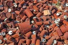 Ржавчина - сброс жестяной коробки Стоковые Фото